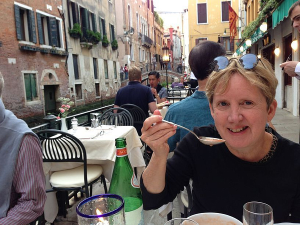 Debbie's favorite restaurant in Italy, Rafael's by BradAndDebbie
