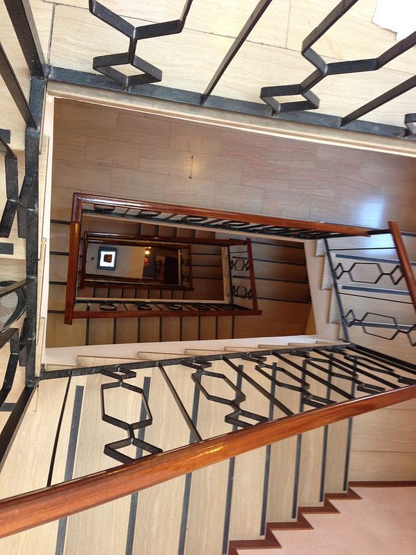 Hotel stair to the 6th floor