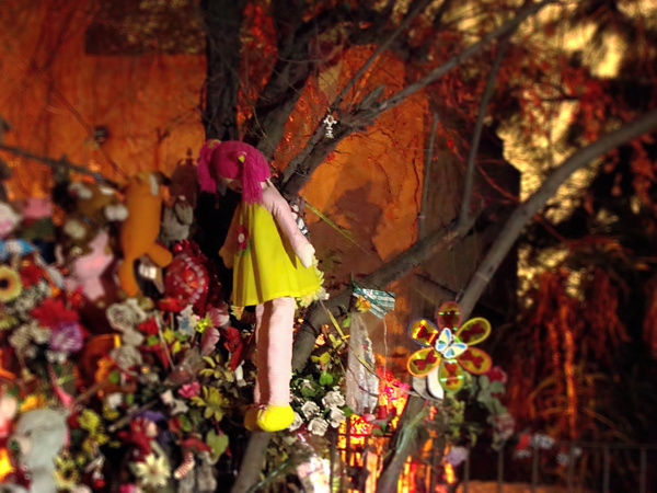 Visita Nocturna Cementerio General by Jorge Rojas
