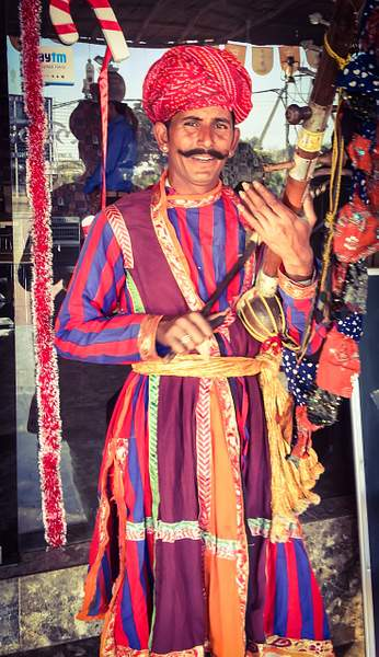 Traditional musician of India