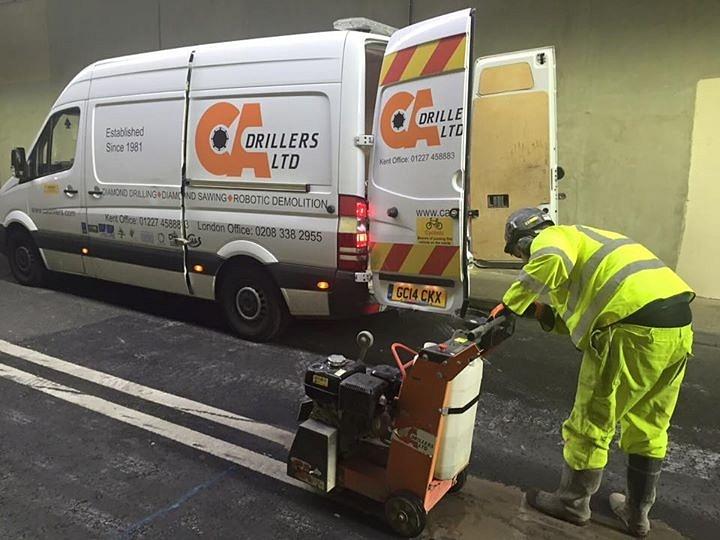 CA Drillers - Hard at Work