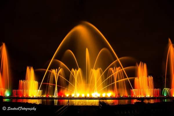 JP Park Musical Fountain