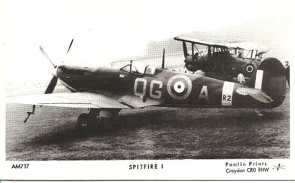 spitfire1 by Stuart Alexander Hamilton