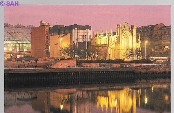 St. Andrews Cathedral, Glasgow by Stuart Alexander Hamilton