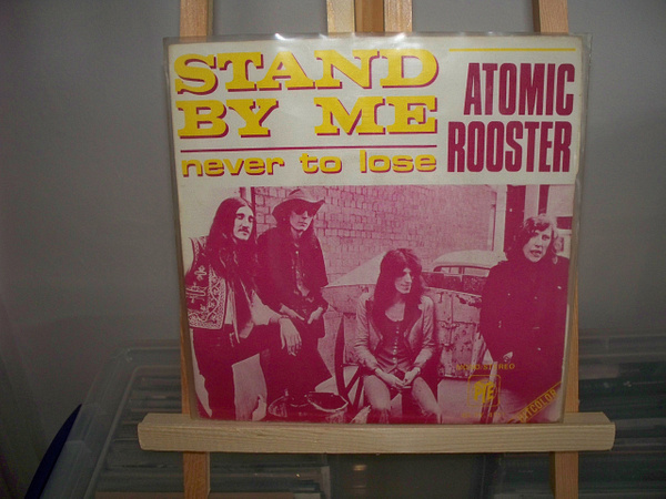 Atomic Rooster French pic sleeve by Stuart Alexander Hamilton