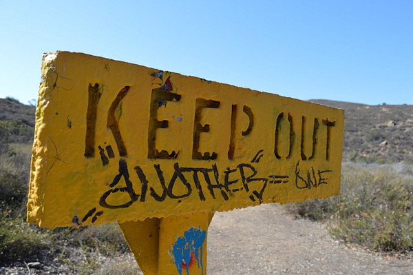 keep out by BriannaIbanezAdvanced