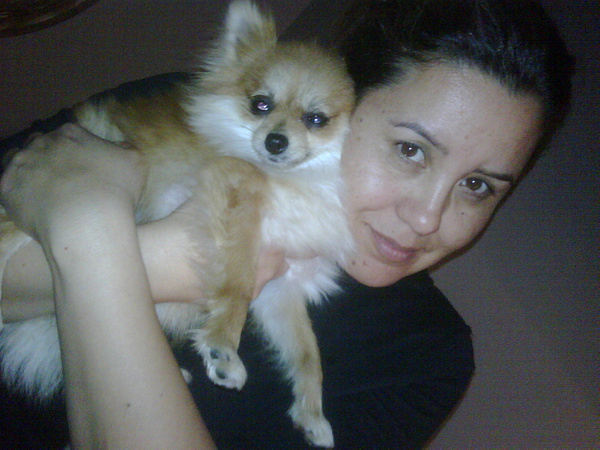 My mother and doge by Jose Martinez