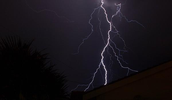Lightning by Rocky Gofamodimo