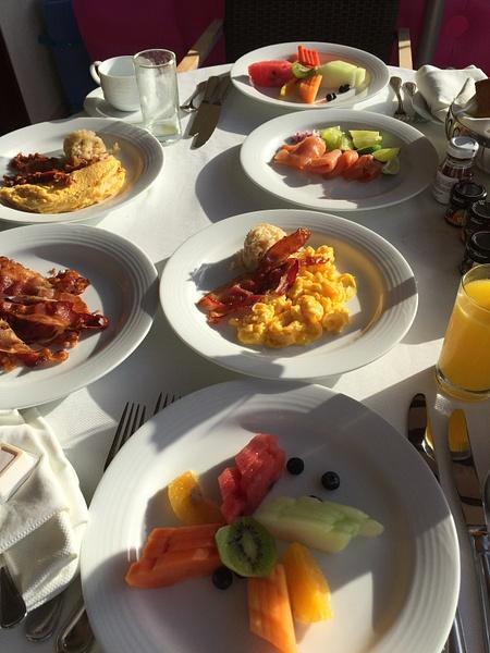 Room service breakfast by JanieBac