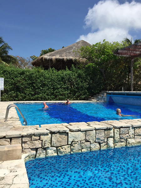 Chillin in pool Isla by JanieBac