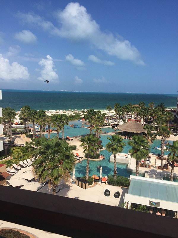 View from our room 3511