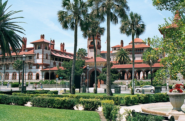 Flagler College by James Bickler