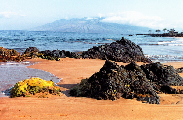 View of Lanii from Maui_pe by James Bickler