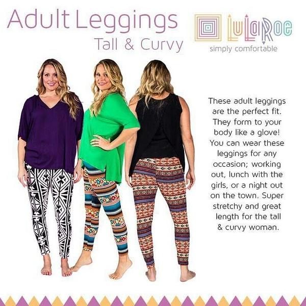 Tall & Curvy Leggings by LularoechicsRebeccaashley