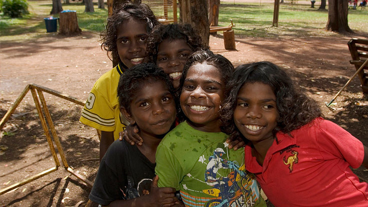 group-happy-aboriginal-girls