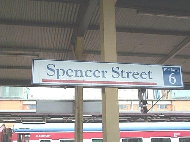 Spencer street station