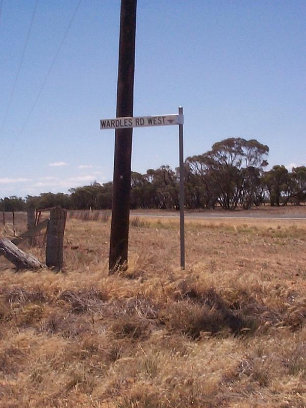 Wardles west road