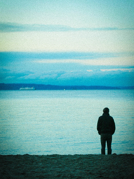 ocean man by LeslieElliott