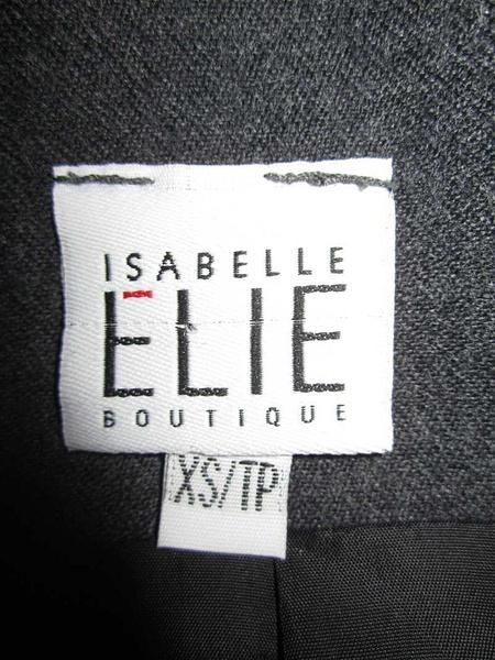 V-11 Veste designer québécoise Isabelle Élie (taille XS) 45 $ by Mamzelle M.