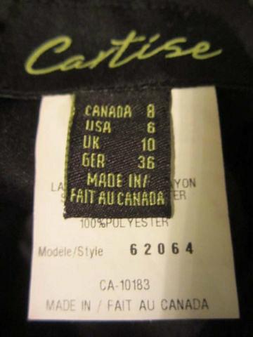 R-16 Robe de soirée (taille 8) 45$ by Mamzelle M.