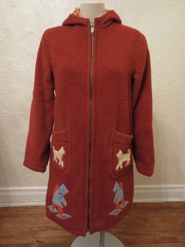 M-14 Manteau vintage inuit (taille S/M) 85$