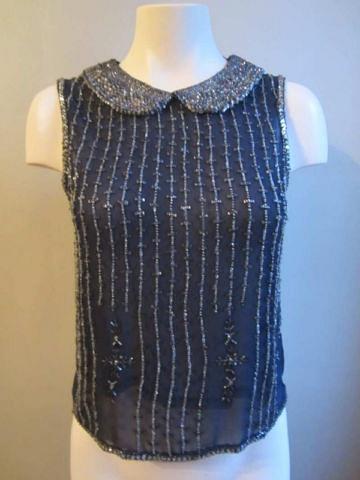 HMC-03 Haut avec perles brodées (taille S) 35 $