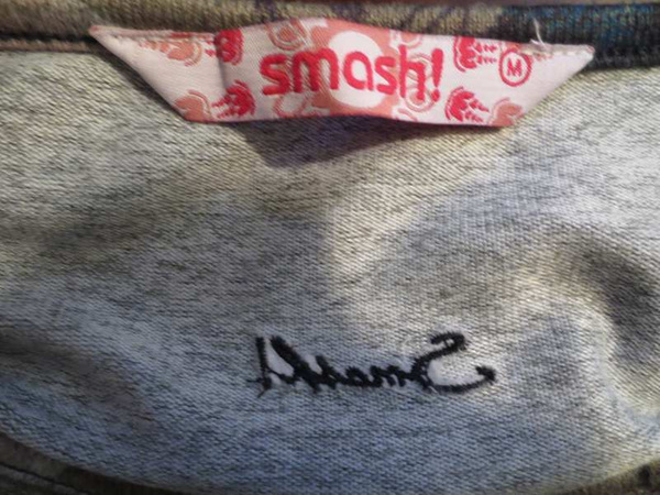 R-39 Robe avec imprimé fleuri Smash (taille M) 40$ by Mamzelle M.
