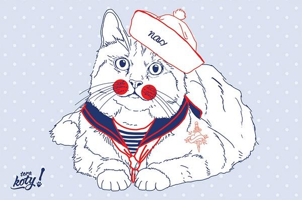 Terakoty-Sailor-Cat by Regina3