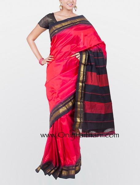 Handloom sarees by OnlyPaithani