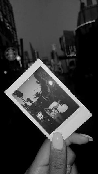 City Walk Polaroid by EmelyBianka