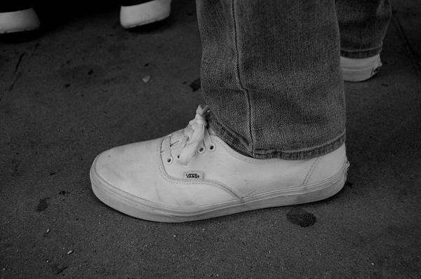 Black and white album by Isaac Llamas