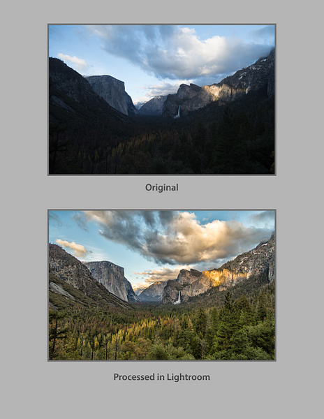 Tunnel View_Text by FotoClaveGallery