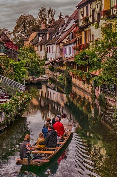 Colmar boat  copy by FotoClaveGallery