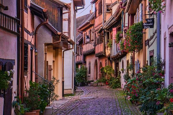 Eguisheim Street by FotoClaveGallery