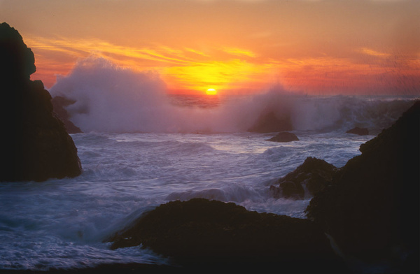 wavesunset copy by FotoClaveGallery