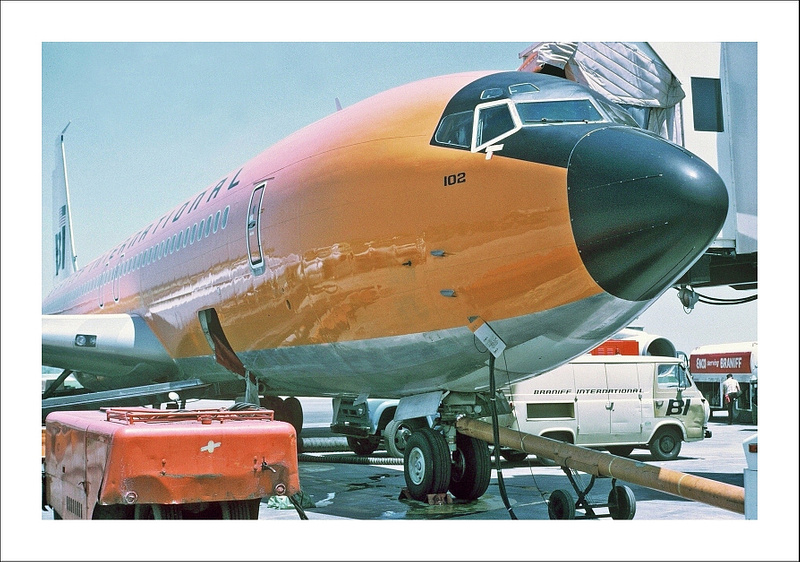 Braniff Airways Boeing 707-327C c