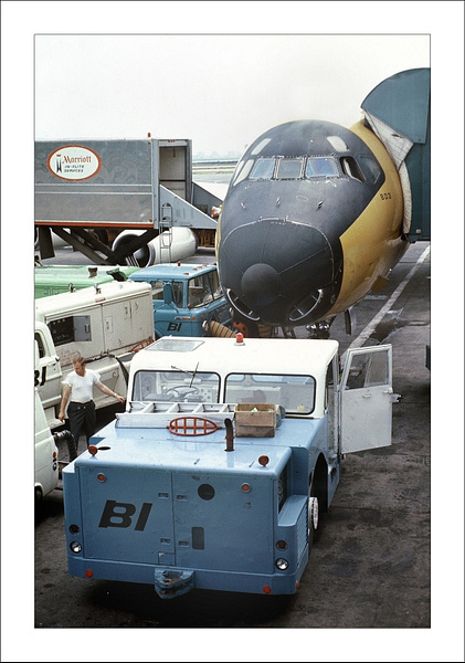 Braniff Airways Douglas DC-8 c by Maurizio Pierotti