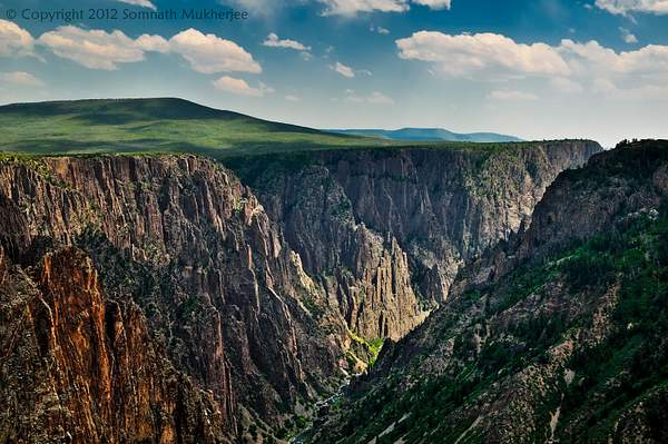 A view from Tomichi Point | Black Canyon of the Gunnison National Park, CO | May 2012