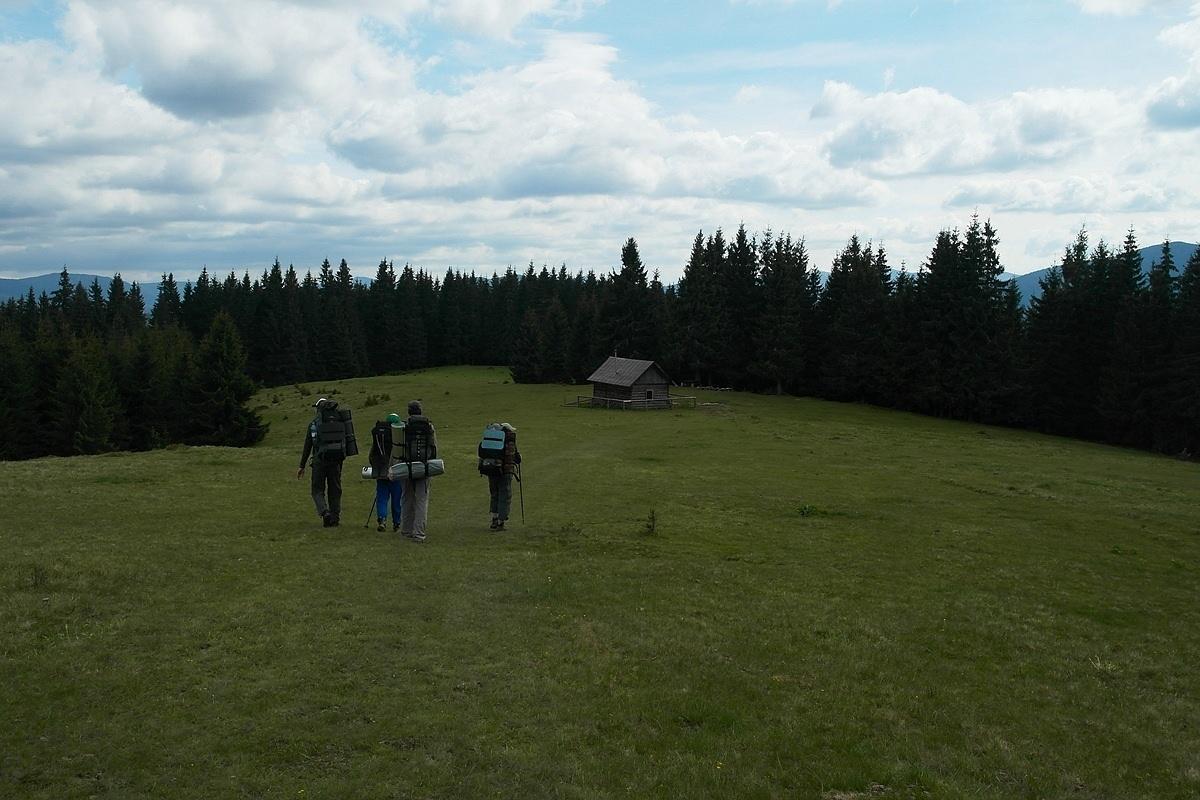Туристический приют, Карпаты