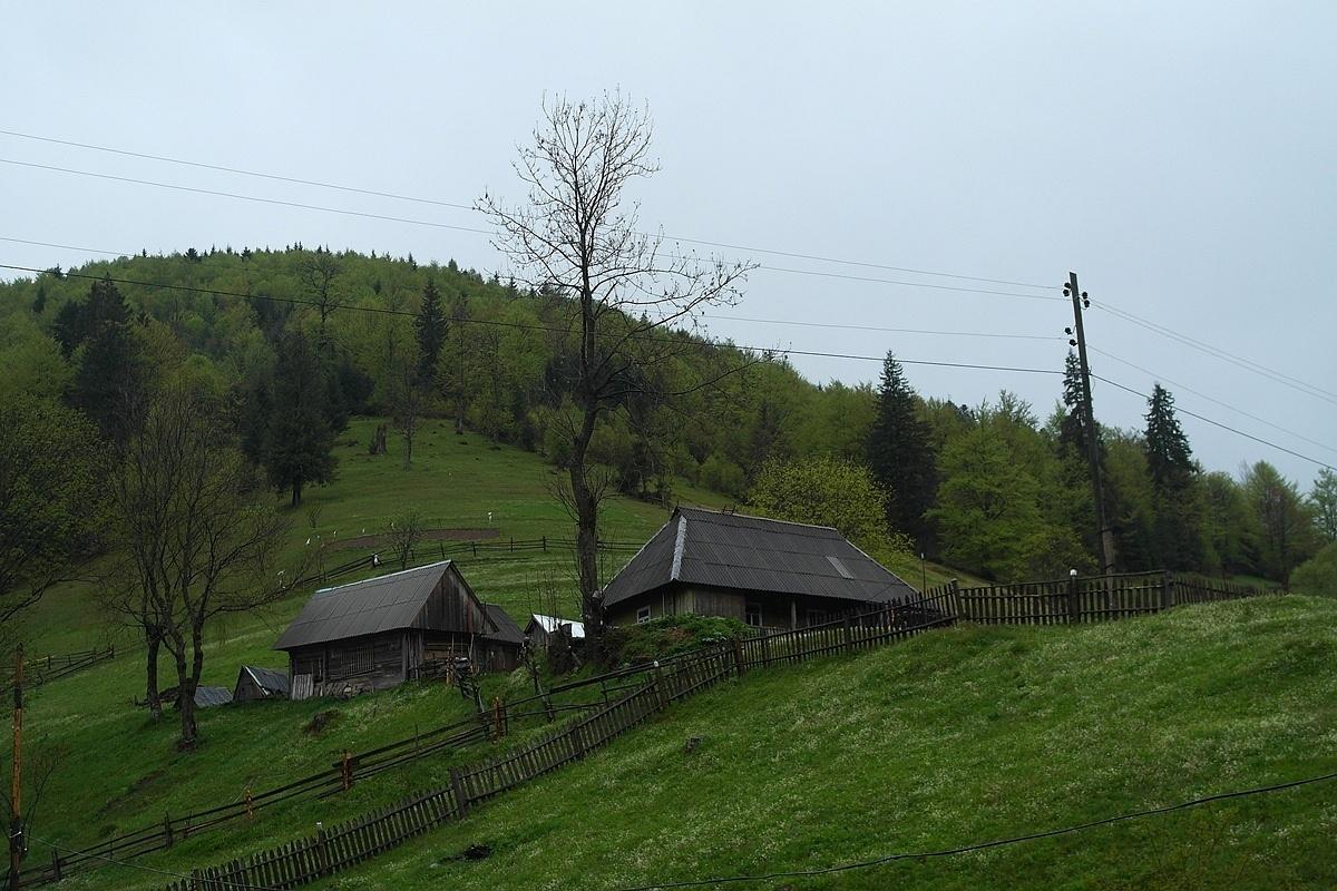 Село в Карпатах
