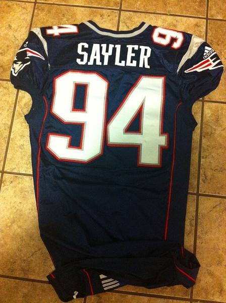 Jayce Sayler New Englans Patriots by JasonPerlman