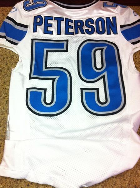 Julian Peterson Detroit Lions by JasonPerlman