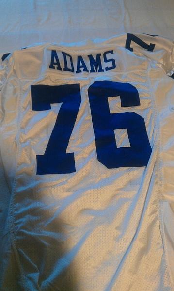 Flozell Adams Dallas Cowboys by JasonPerlman