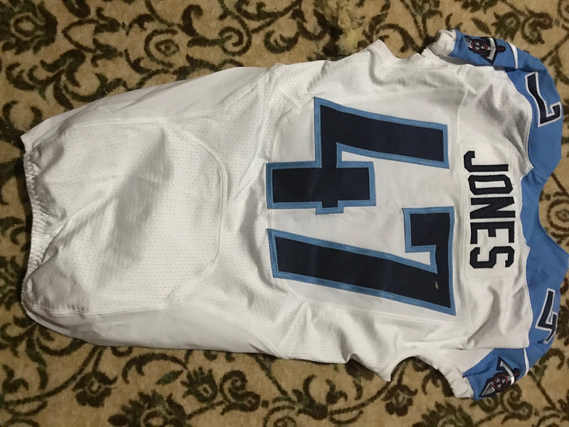 Greg Jones Tennessee Titans