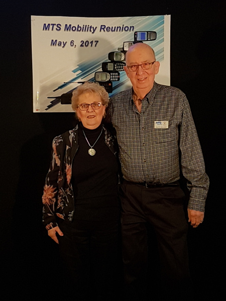Dave and Linda Sloane by MTS Mobility Reunion Pics