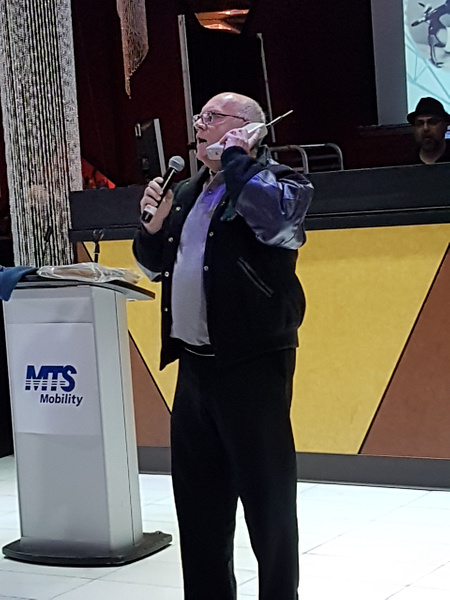 John MacLise and the Original Brick by MTS Mobility Reunion Pics