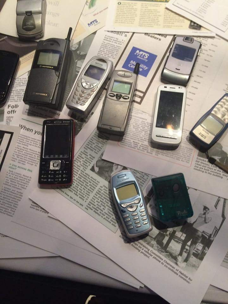 Phones of Days Gone By by MTS Mobility Reunion Pics