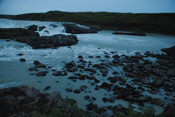 Urriðafoss by Maria Dzeshchanka