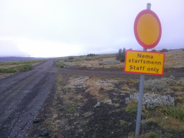 Closed road :) by Maria Dzeshchanka