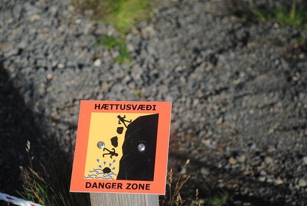 Danger zone by Maria Dzeshchanka